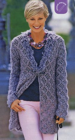 Jacket with collar diagram at source crochet pinterest crochet crochet jacket with collar diagram ccuart Gallery