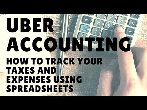 uber accounting how to track your taxes and expenses using