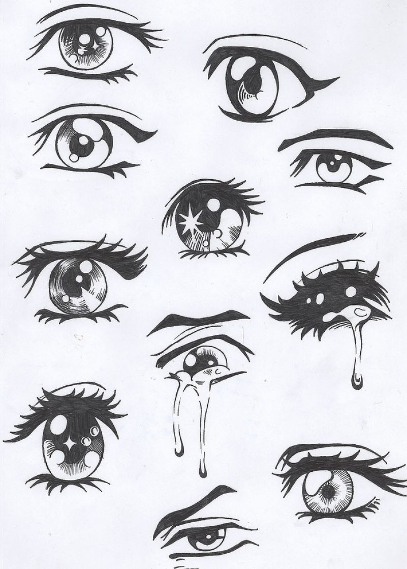 How To Draw Eyes Anime Drawings Easy Anime Eyes Anime Drawings