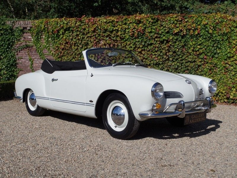 vente voiture ancienne de collection : volkswagen karman ghia