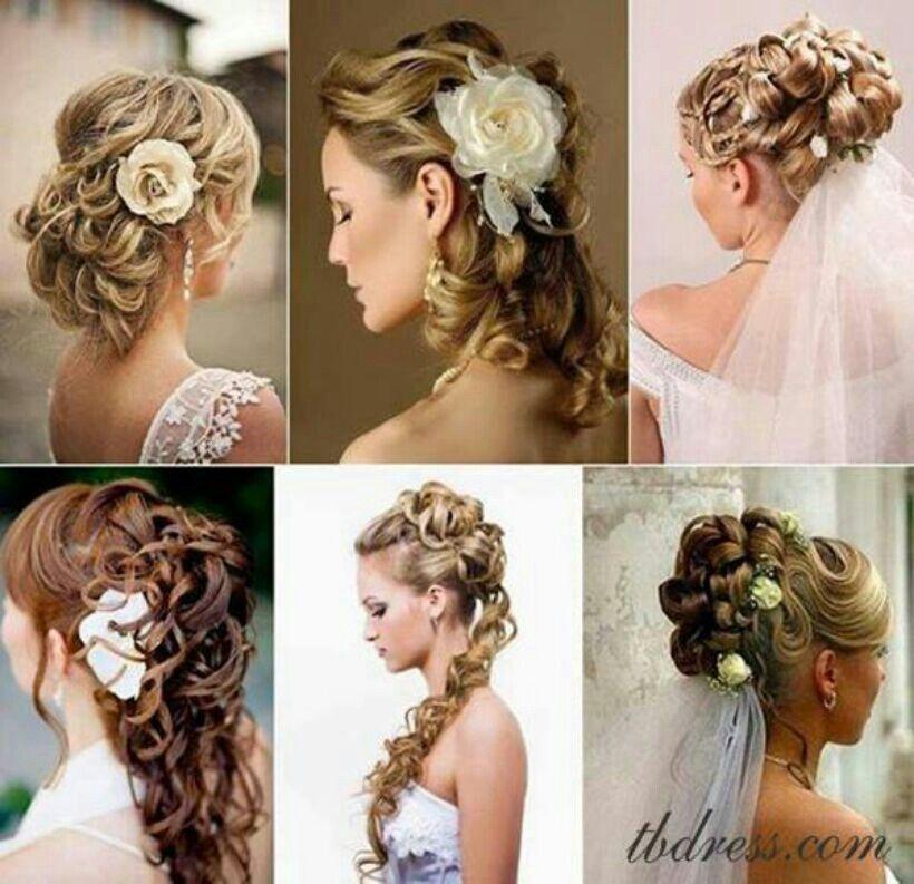 Bride hair styles!