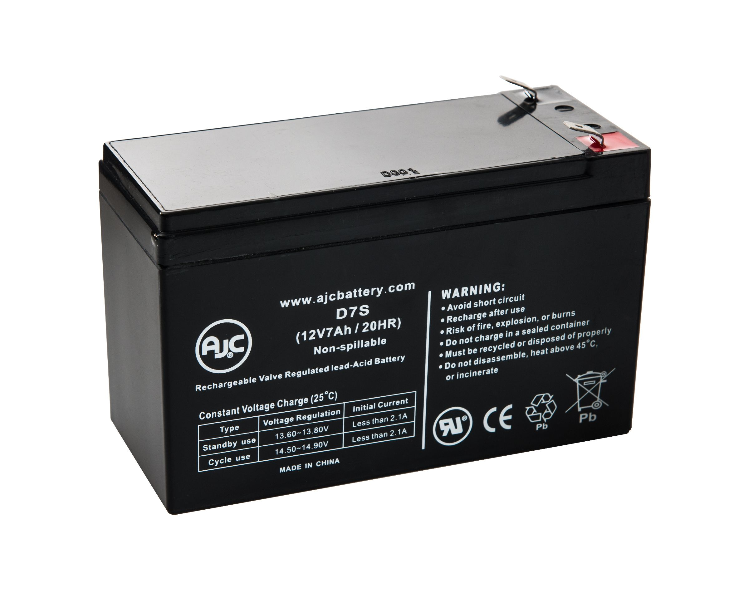 Pin On Ajc Sealed Lead Acid Batteries