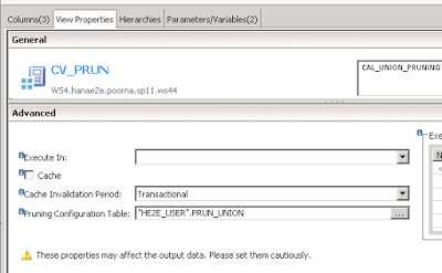 Union Node Pruning in Modeling with Calculation View | SAP