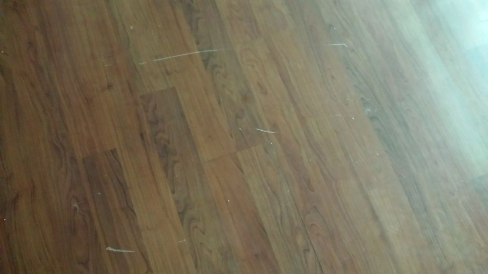 Any Tips For Fixing Scratches On A Laminate Floor Flooring Laminate Flooring Laminate