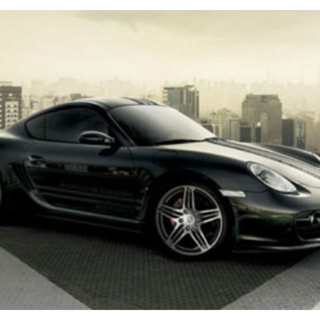 Luxury Cars Porsche Cars Black Porsche: Blacked Out Porsche Cayman S