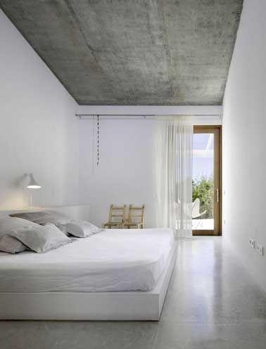 Déco chambre  8 ambiances du0027exception qui font rêver Bedrooms - dalle de sol chambre