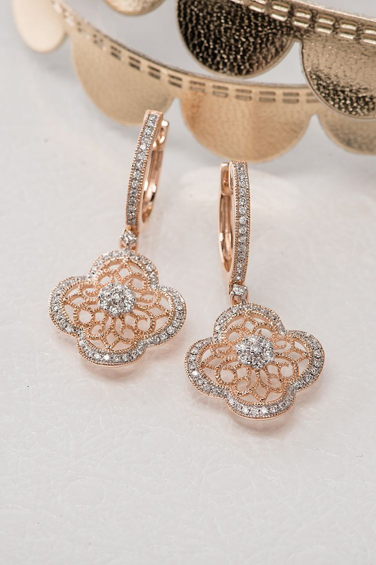 Complete Your Bridal Look With These Lovely Earrings Shaneco Shanecochic