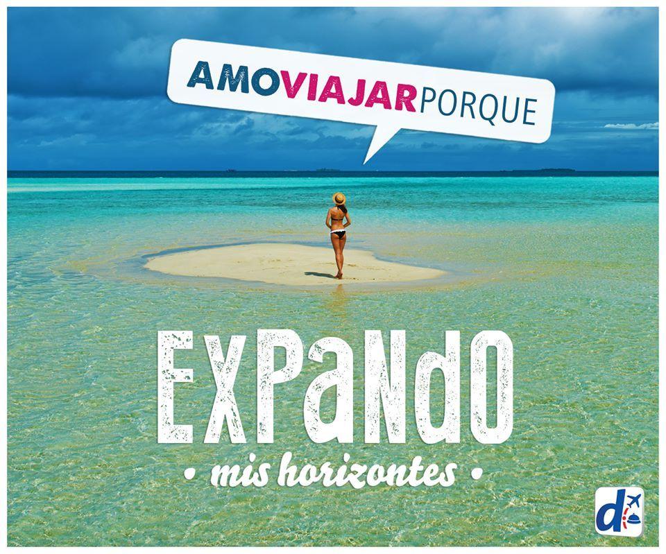 #Amo viajar porque expando mis horizontes www.despegar.com