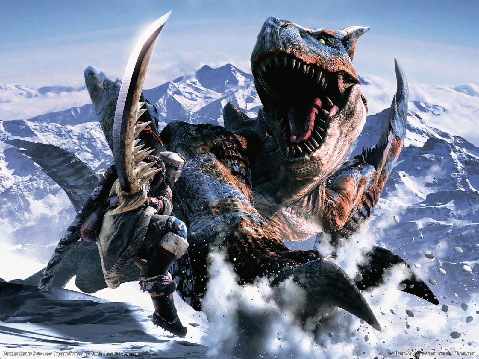 Image Detail For Walls Of Gaming Excellent Monster Hunter Tri Wallpapers Monster Hunter Monster Hunter Movie Monster Hunter World