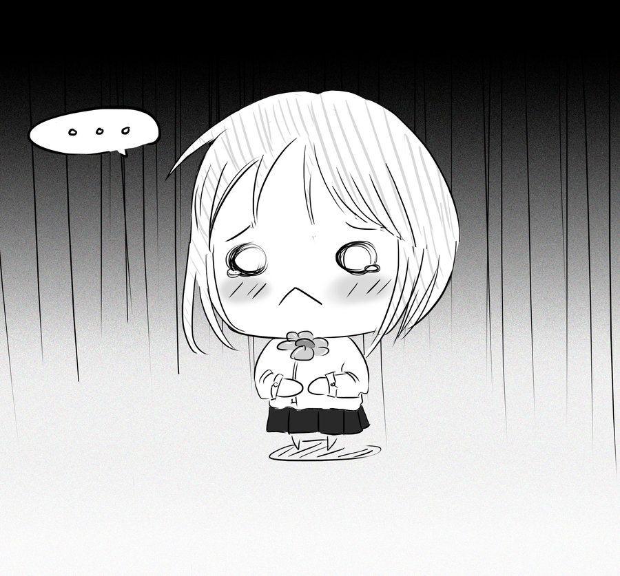 Image result for sad chibi