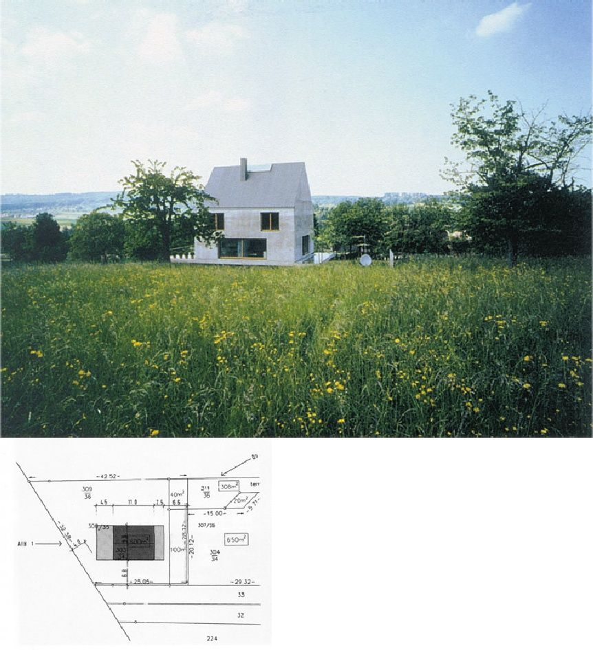 Rudin house herzog de meuron architecture houses - Master degree in interior design ...