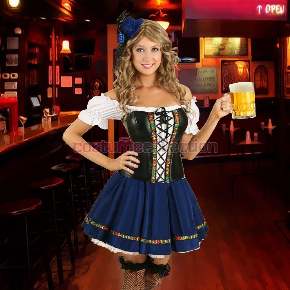 Busty barmaid dress