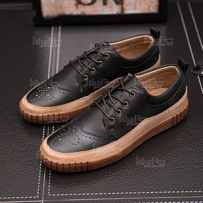 Yüksek Kaliteli Malzemelerden Üretim Moda Erkek Ayakkabı Modelleri - 571582 - 31 #erkekayakkabı