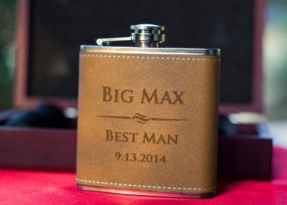 Groomsmen Gift, Flask Gift Set, Personalized Flask, Engraved Flask, Personalized Shot Glasses, Gift for Groomsmen, Personalized flasks make fun