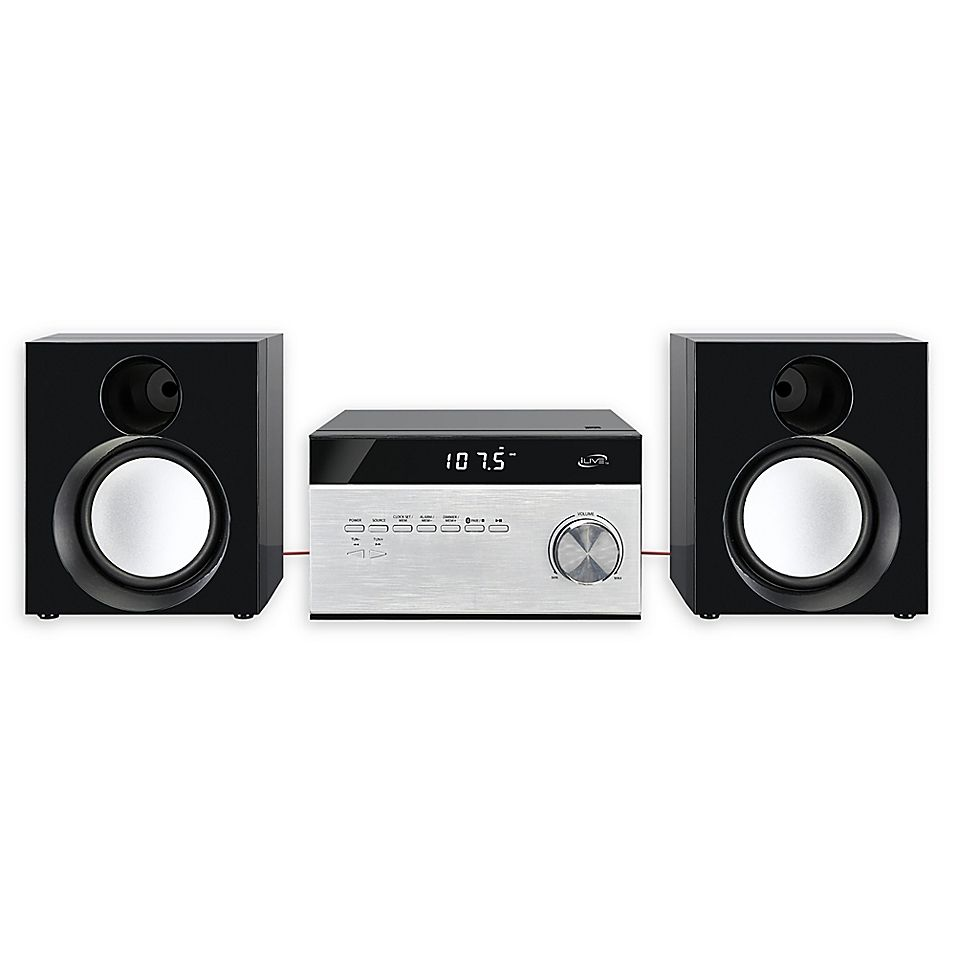 Ilive Wireless Home Music System In Black #musicsystem