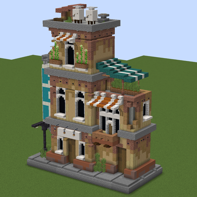Built a wee lil house, thoughts?