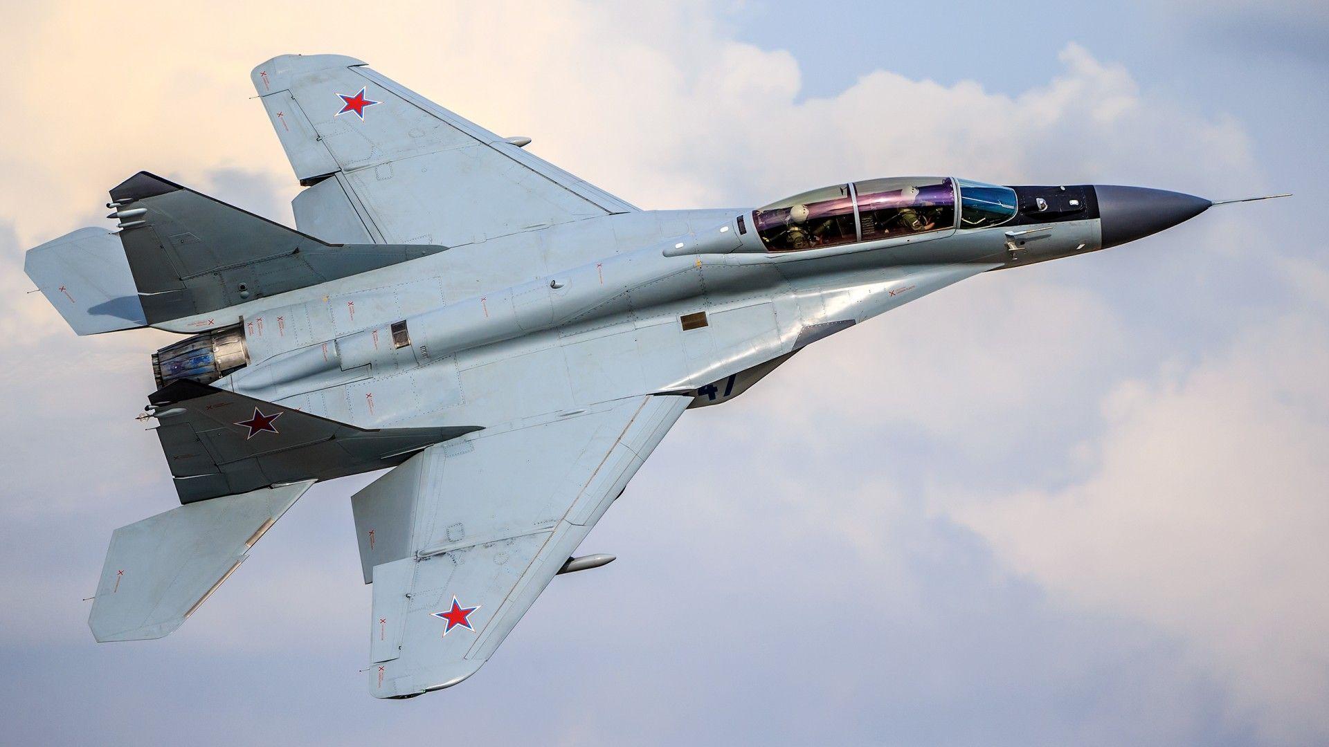 MiG-35 Russian Aircraft Wallpaper