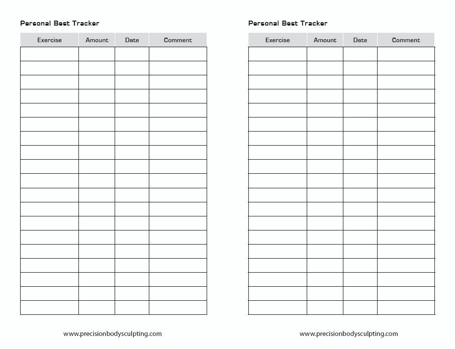 Workout Sheet  Workouts    Workout Sheets And Workout