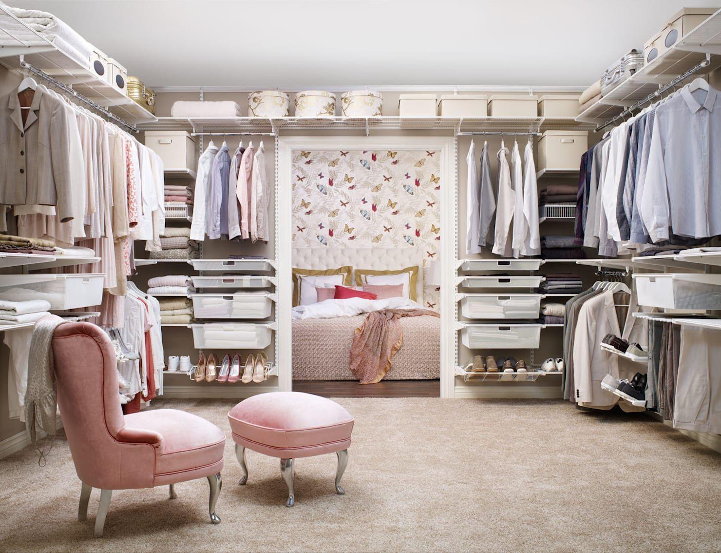 Wie Kann Ich Einen Begehbaren Kleiderschrank In Mein Schlafzimmer  Integrieren?