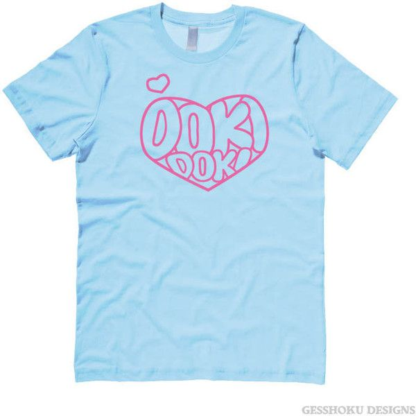 9a52df2e0 Pastel Blue Shirt Kawaii Aesthetic cute heart tshirt Doki Doki... (30 SGD