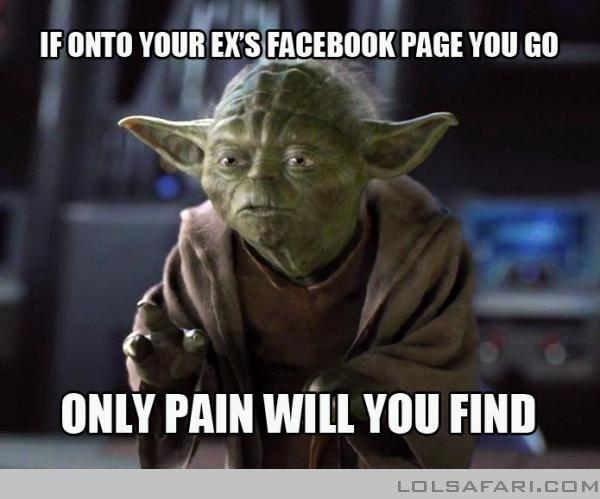 Actual advice Yoda