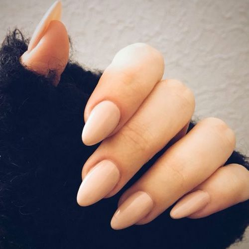 Almond nails are goals baby almost all almond nails are acrylic easy do it yourself nails at home solutioingenieria Images