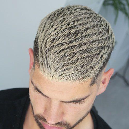 cortes de cabello para hombres bajos