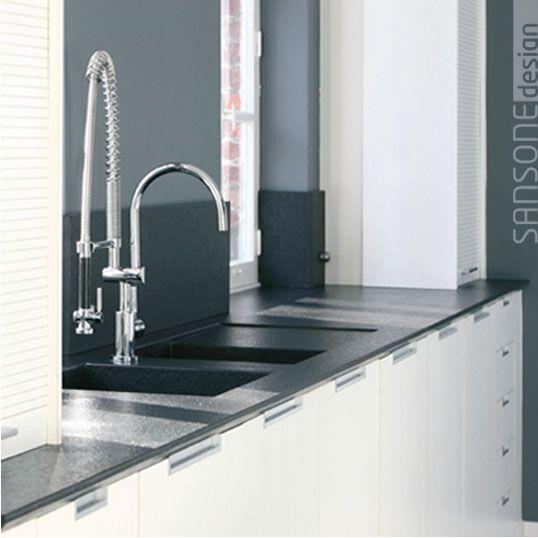 SANSONE design, Architecte du0027intérieur - Rénovation, aménagement - Amenagement Cuisine En U