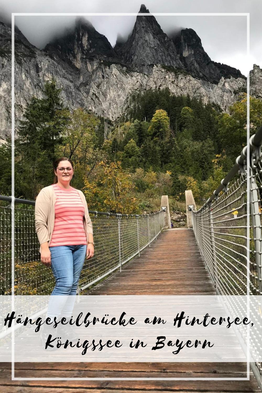 Fotospot Hängeseilbrücke am Hintersee   Wandern am