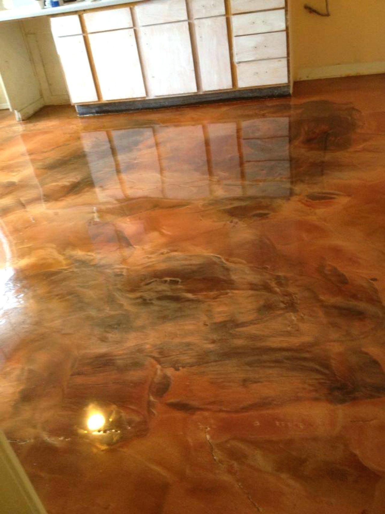 Self Leveling Epoxy For Wood Floors Concrete Decor Concrete Stained Floors Flooring