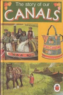 Ladybird Books At The Wee Web Ladybird Books Canal Boat Art Canals