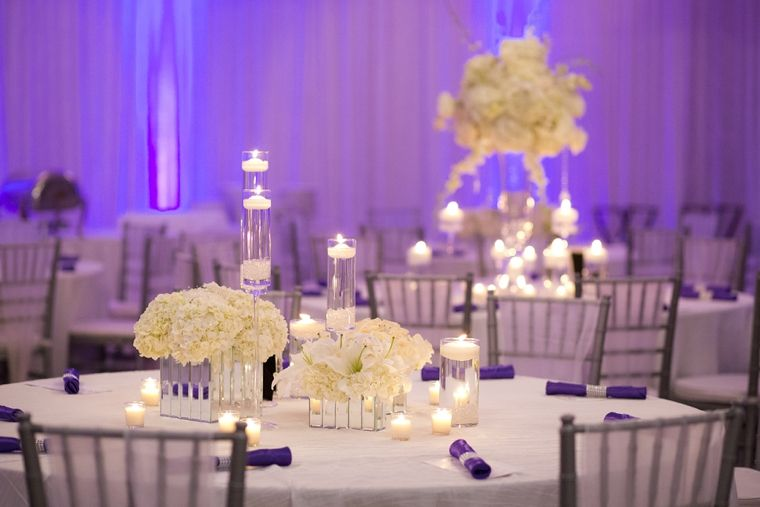 An Elegant Purple And White Wedding Uptown Saturday Night Hyatt