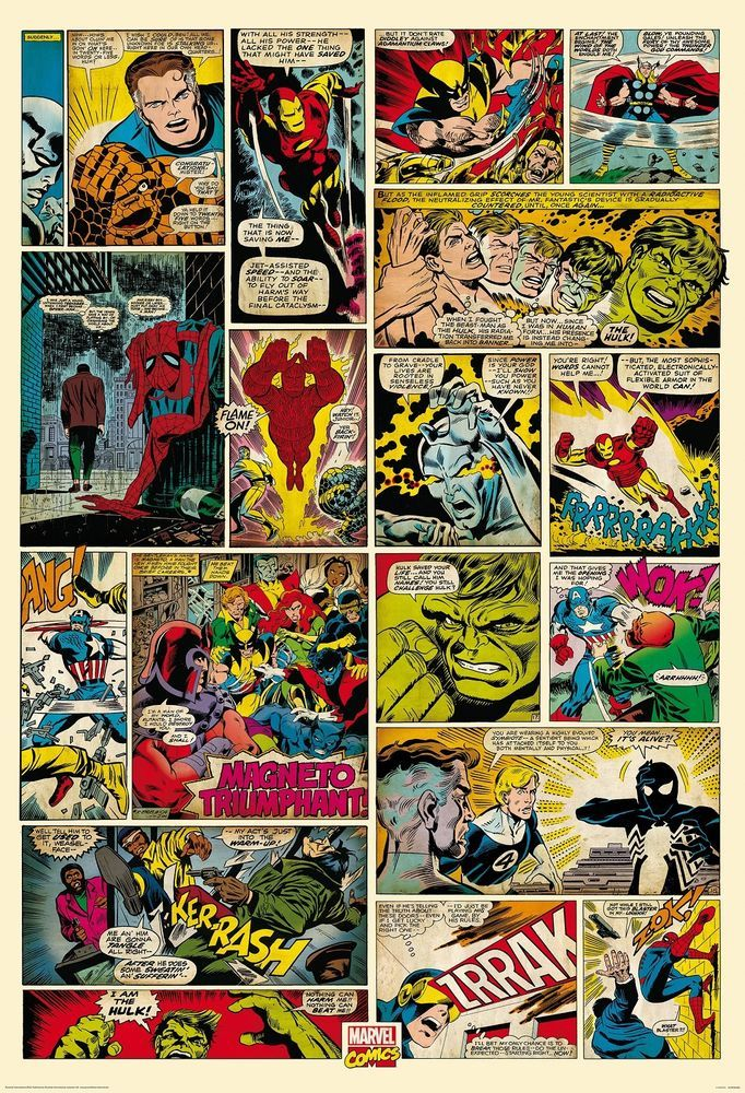 Best Childrens Room Wall Mural Photo Wallpaper Marvel 400 x 300