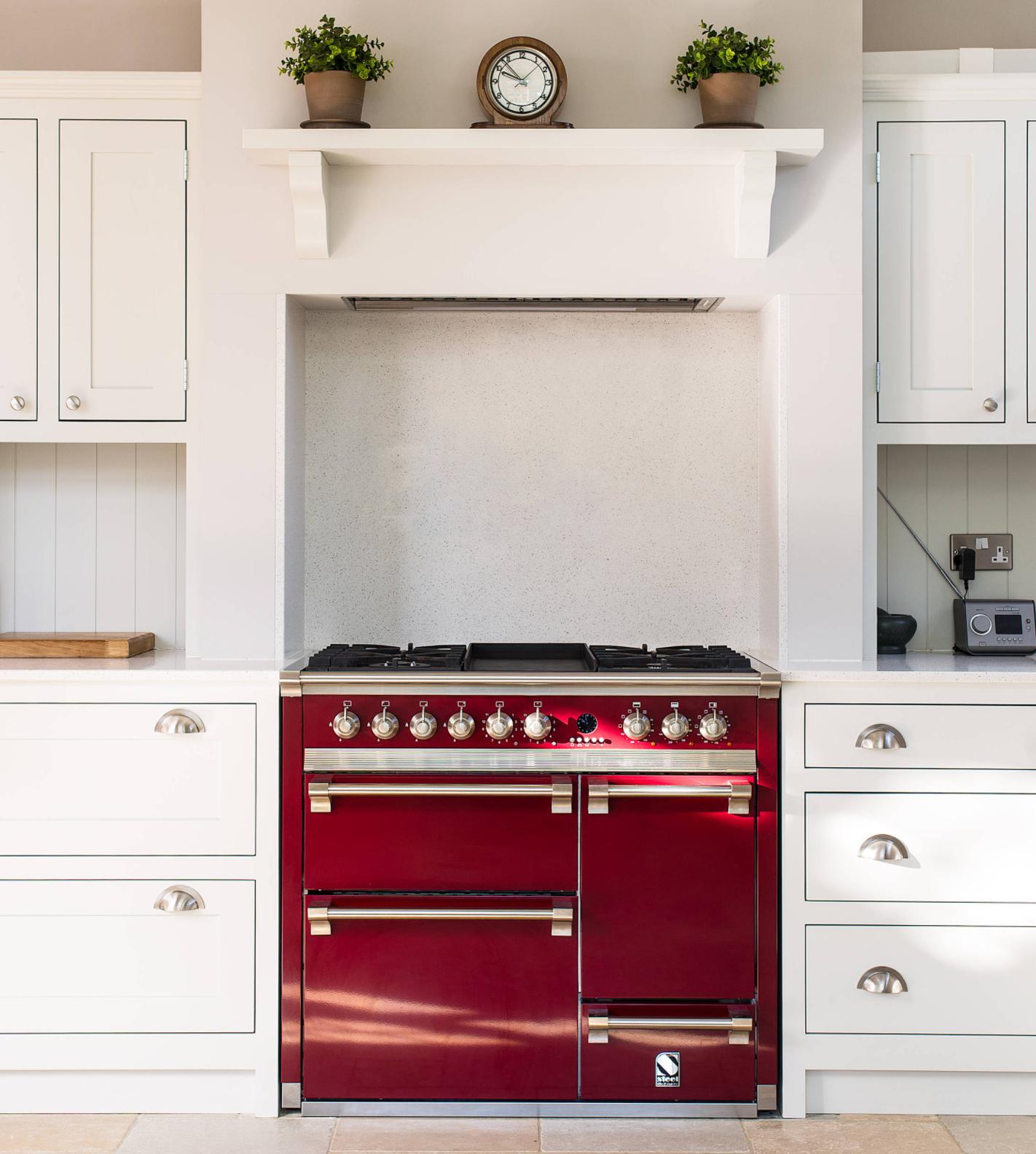 Kitchen Shelf Above Cooker