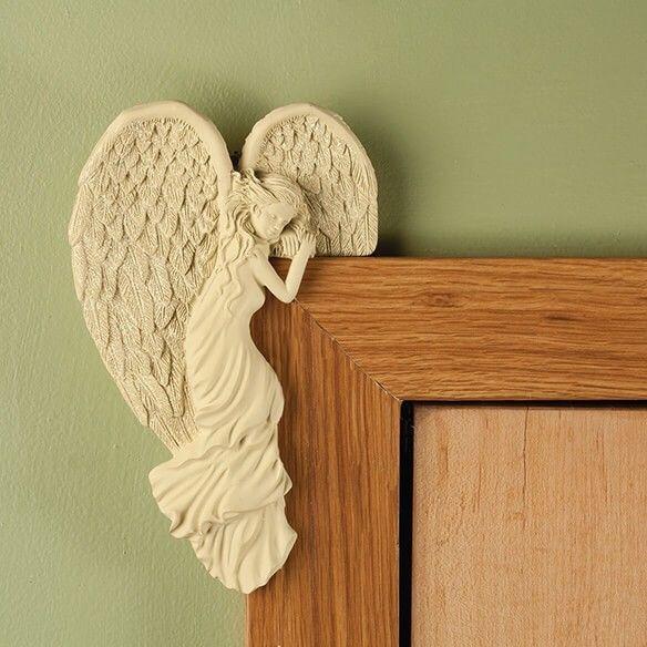 Angel Wall Art Home Decor Hanging Glitter Wings Door Mirror Photo ...