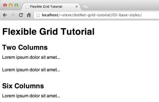 Create flexible grids using Sass | Web design | Creative Bloq