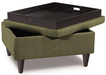 ottoman with tray lid | Ideias para a casa | Pinterest