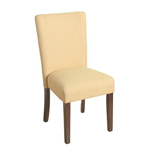 Homepop Glenbrier Daisy Textured Parson Dining Chair  Single Amazing Single Dining Room Chair Design Inspiration