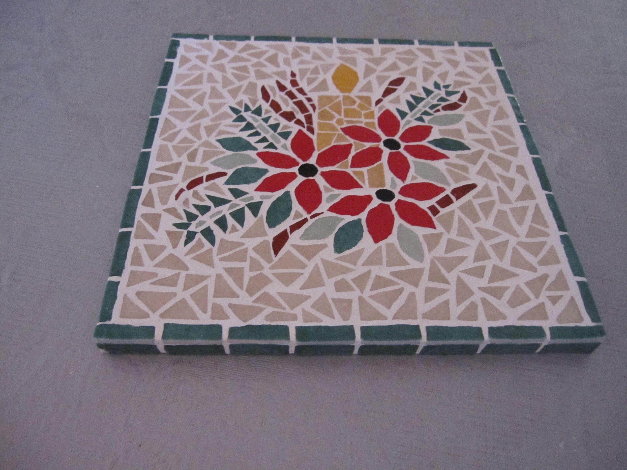 dessous de plat genti sculpture pinterest mosaics craft and creative. Black Bedroom Furniture Sets. Home Design Ideas