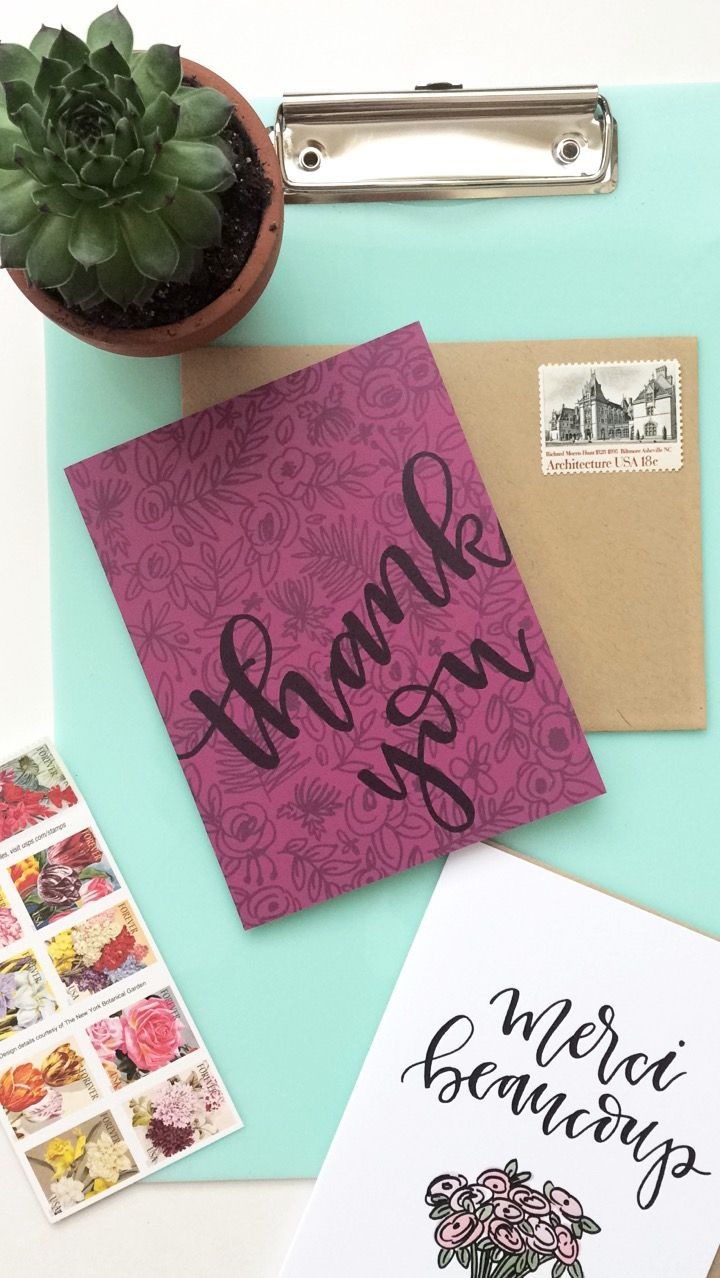 Dont Forget To Send The Thank You Cards Designed By Instead Of