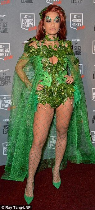 Poison Ivy Costume Adult Halloween Fancy Dress
