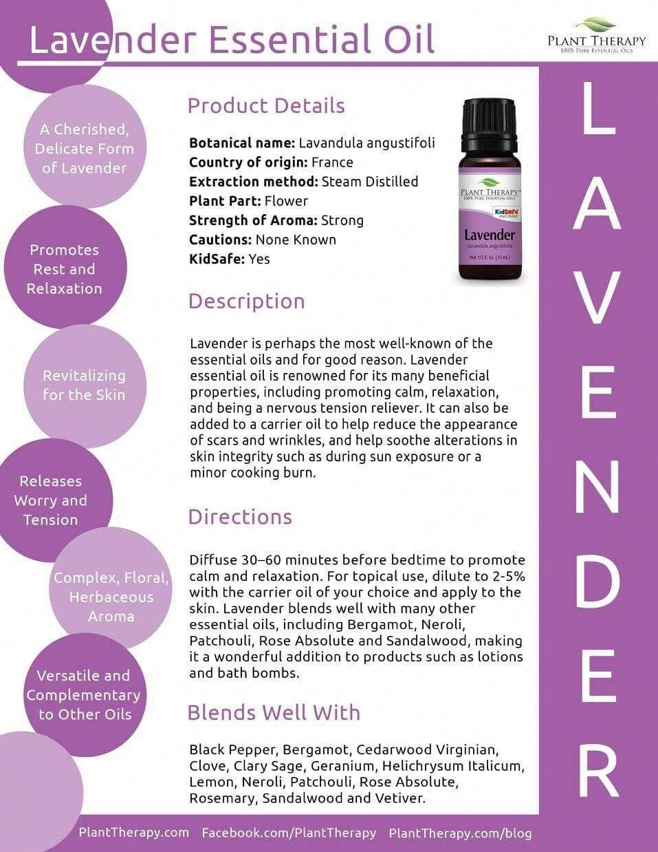 Lavender Essential Oil Essentialoilgifts Plant Therapy Essential Oils Plant Therapy Oils Plant Therapy