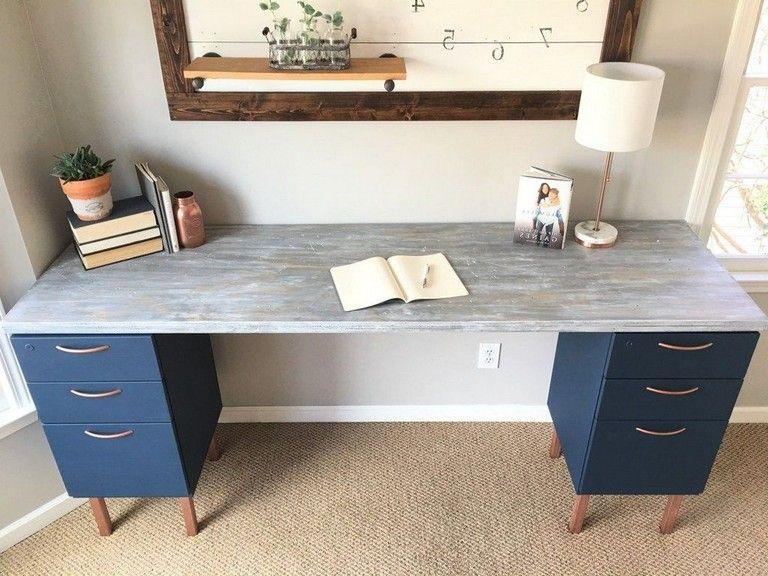 30 Exciting Diy Home Office Desk Ideas Diy File Cabinet Diy