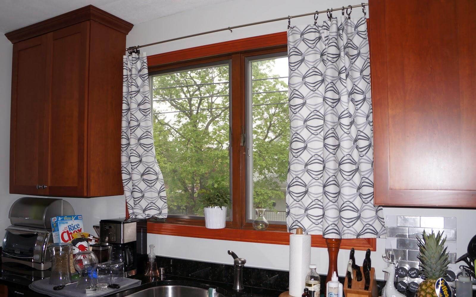 Kitchen Curtains Modern Ideas Part - 20: Modern Kitchen Curtains Ideas