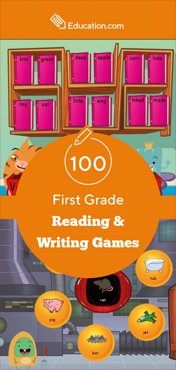 100 1st Grade Reading Writing Online Games In 2020 Writing Games First Grade Reading Reading Writing