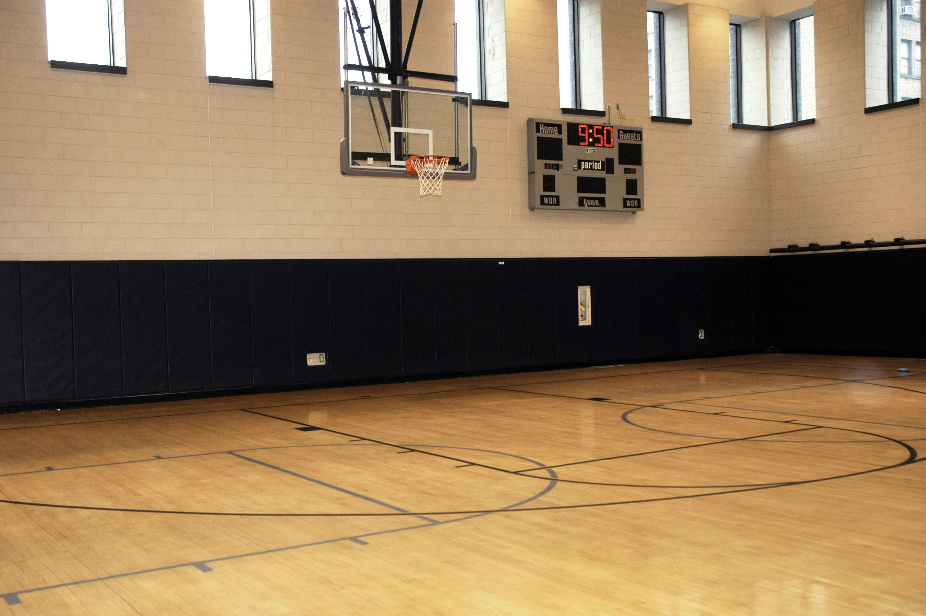 Jcc Manhattan Basketball Court Space Place Court