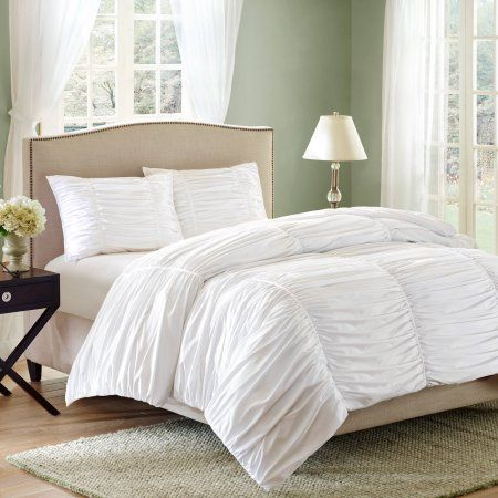 466d5d7bd2475abe4f41f5052f295a87 - Better Homes And Gardens Pintuck Bedding Comforter Mini Set