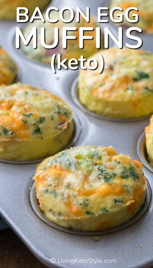 Photo of Keto Egg Muffins are one of my all time favorite breakfast recipes! Fresh eggs, …