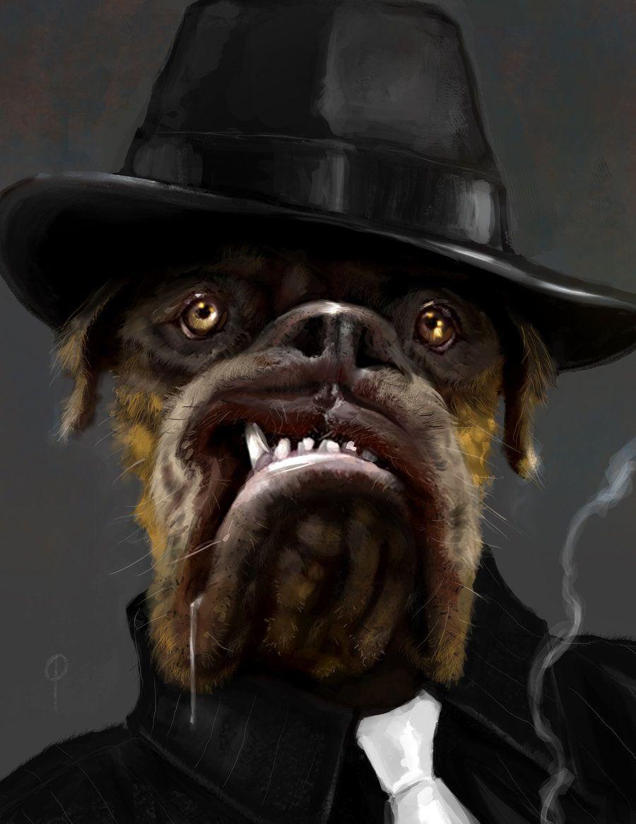 Mob Dog, Paul LaSalle on ArtStation at https://www.artstation.com/artwork/4N8e4