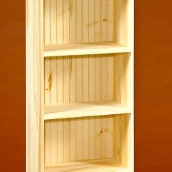 Finished And Unfinished Bookcases Unfinished Pine